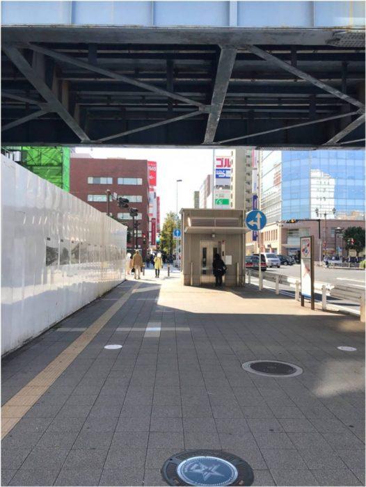 JR関内駅近くの大通り
